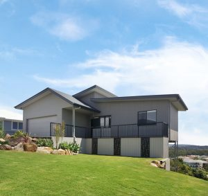 Sloping Block Home
